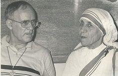 Mère Teresa  avec feu Henri Souchon