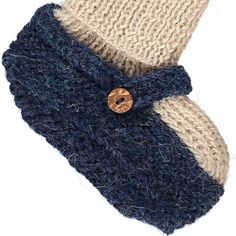 Oeuf NYC Alpaca Wool Baby Sock Slippers-product