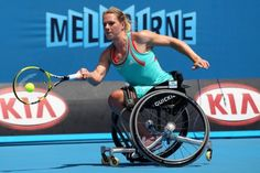 Esther Vergeer born on July 18, 1981 in Woerden, Netherlands is the greatest wheelchair tennis player of all time. Since 2003, shehas won every singles match she has played – around 444 matches in the last nine years.