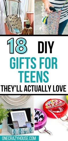 Buying gifts that teenagers will love can be challenging. Don't buy them...make them! Here are the best gifts for teens that you can DIY.