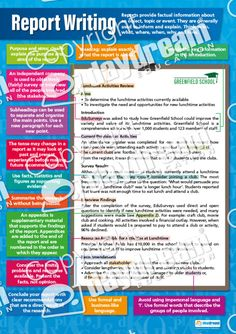 Learn about Report Writing with this eye-catching and appealing educational poster. The poster is ideal for exhibition in classrooms, school hallways and at home. English Teaching Resources, Teaching English Grammar, Writing Posters, Type Posters, Report Writing Skills, English Posters, Sample Resume, Texts, School Hallways