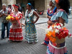 traditional Cuban costumes