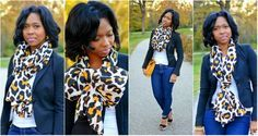 "Fall Refresh: Another Way to Wear Your Scarf ~ ""Sweenee Style"""