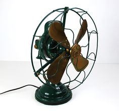 Vintage Green Zero Model 1250 Electric Fan by VintageDreamn. Description from pinterest.com. I searched for this on bing.com/images