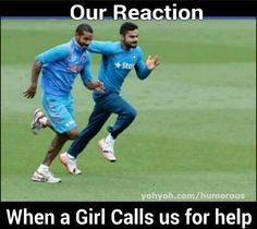 Our Reaction When A Girl Calls Us For Help.