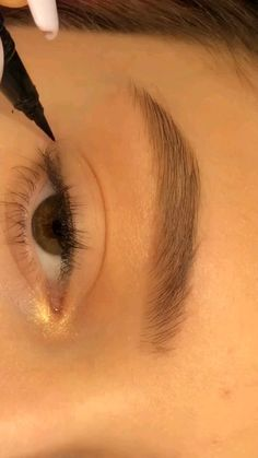 Eye Makeup Steps, Makeup Eye Looks, Eye Makeup Art, Eyeshadow Makeup, Skin Makeup, Eye Makeup Designs, Eyeliner Make-up, Makeup Tutorial Eyeliner, Eyeliner Looks