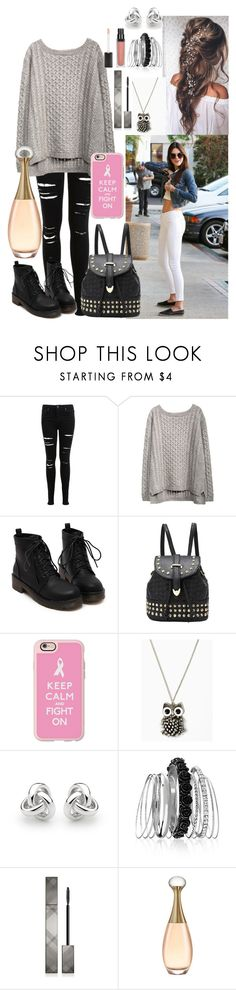 """""""Shopping day with ur bestie Kendall"""" by mollieswale ❤ liked on Polyvore featuring Miss Selfridge, Casetify, Georgini, Avenue and Burberry"""