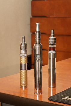mods: Lavatube v1, Gus/LPG, KTS  attys: IGO-L/SS/Rambo, Bully v1, SmokTech R-Tank   We have the latest e-cigarette models and a great variety of e-liquid flavors. Visit us at www.e-cigarilicious.com