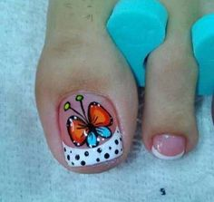 Nails & Co, Feet Nails, Pedicure Nails, Hair And Nails, Manicure, Pedicure Designs, Toe Nail Designs, Nail Polish Designs, Summer Toe Designs