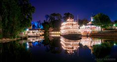 Wow, such a beautiful photo of Walt Disney World's Liberty Belle riverboat!