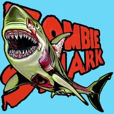 Zombie Shark tee $20