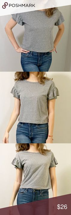 WOMEN STRIPED WOVEN KEYHOLE BACK TOP By UNIVERSAL THREAD BLUE BUY 3 GET 50/% OFF