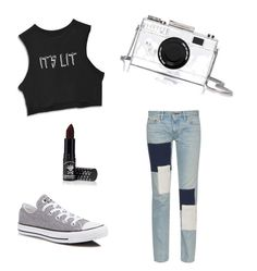 """Без названия #1"" by kseniya-vikhireva on Polyvore featuring мода, Simon Miller, Converse, Kate Spade и Manic Panic"