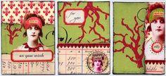 Weekly Art Challenge: Make Holiday ATCs! (Nov 5, 2008)