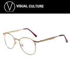 2015 Round Retro Korean Glasses Frames Wide Match Big Frame Modify OculosFeminino Eyeglasses gold glasses frames C070-in Eyewear Frames from Women's Clothing & Accessories on Aliexpress.com   Alibaba Group
