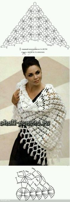 Fabulous Crochet a Little Black Crochet Dress Ideas. Georgeous Crochet a Little Black Crochet Dress Ideas. Crochet Diy, Poncho Crochet, Mode Crochet, Crochet Shawls And Wraps, Crochet Scarves, Crochet Motif, Crochet Clothes, Crochet Stitches, Crochet Diagram