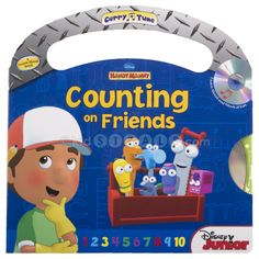 Fun friends help kids learn to count. Only a few copies left!