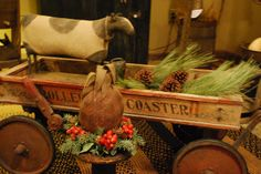 Primitive Country Christmas by A Storybook Life, via Flickr