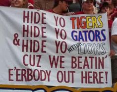 Best. Bama. Sign.