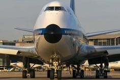 Black nose with a little bit evening sun...Boeing 747-8 (D-ABYT) by Uwe Zinke