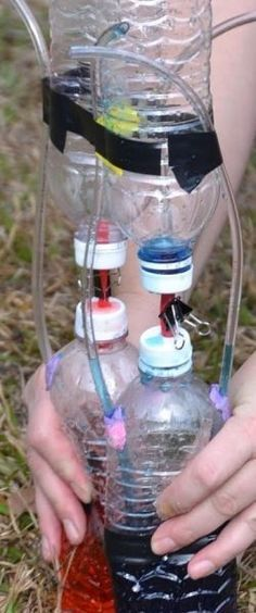Make a model of the human heart: http://www.ehow.com/how_7813129_make-heart-out-pop-bottles.html?dmsp=manual