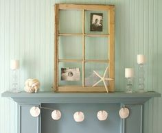 perfect mantle for my future beach house. ;)