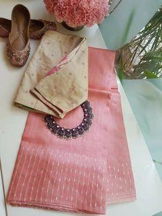 Simple Sarees, Trendy Sarees, Stylish Sarees, Fancy Sarees, Saree Blouse Neck Designs, Fancy Blouse Designs, Saree Blouse Patterns, Silk Saree Kanchipuram, Organza Saree