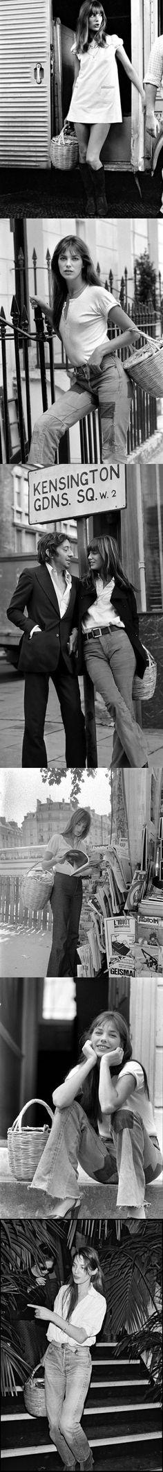 JANE BIRKIN & Serge Gainsbourg at Kensington Gardens Sq. Can I be you