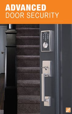 Say goodbye to the hassle of house keys with a truly keyless experience. The Schlage Touch™ deadbolt in Satin Nickel provides security, style and convenience. See it at The Home Depot.
