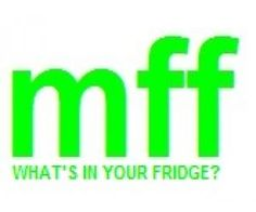 My Fridge Food--select contents in your fridge, get recipe results matched to your fridge contents... GENIUS!
