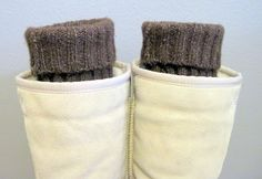 DIY: Boot Toppers/Legwarmers | In the Hammock Vintage Style
