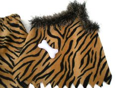 Play outfit  halloween childs theme costume tiger by JaminaRose, $32.00