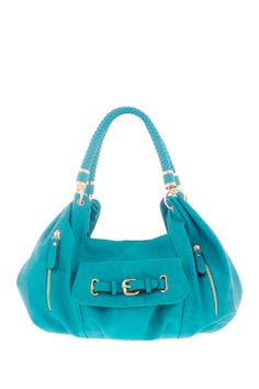 Slouchy Pleated Hobo - love the color of this bag♥