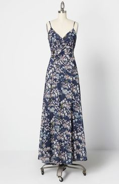 ModCloth x Hutch Postcard Perfection Maxi Dress Navy Floral Plus Size Occasion Dresses, Occasion Maxi Dresses, Plus Size Maxi Dresses, Special Occasion Dresses, Casual Dresses, Short Sleeve Dresses, Dresses With Sleeves, Maxi Wrap Dress, Culture