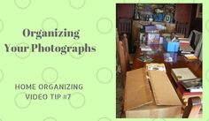 How to Organize Your Photograph Collection > For those who are short on time is to do this: As you go through your photos, take your pictures out of their paper cases, toss the negatives and store them into plastic shoe boxes.