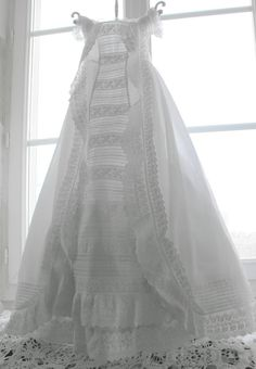Antique christening gown fit for a princess!