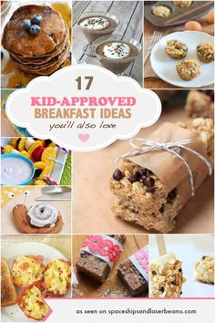 17 Kid Approved Breakfast Ideas You'll Also Love - Spaceships and Laser Beams