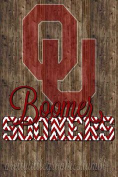 Sooner Nation.... It's just a little over a month until the first snap! August 30th @ 6:00 pm.... BOOMER!!!! SOONER!!!!