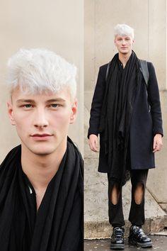 strangeforeignbeauty:Benjamin Jarvis|Street Style