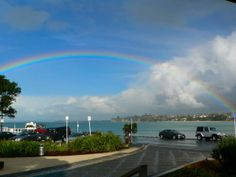 The day gay marriage was legalised in New Zealand - rainbows could be seen all Auckland! Lesbian, Gay, Auckland, Short Stories, Rainbows, Thriller, New Zealand, Marriage, Adventure