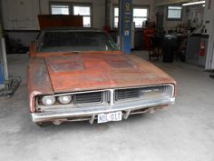 1969 Dodge Charger Resto Project