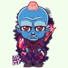 Guardians of the Galaxy - Lord Mesa Art Chibi Marvel, Marvel Dc Comics, Marvel Heroes, Films Marvel, Marvel Characters, Disney Marvel, Comic Kunst, Comic Art, Logo Super Heros