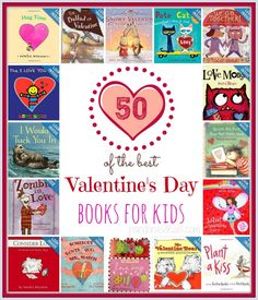 50 of the Best Valentine's Day Books for Kids