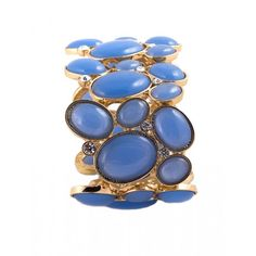 BG's Chunky Ceil Blue Bracelet #bracelet #adjustablebracelet