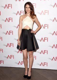 Amanda Crew: 2015 AFI Awards -05