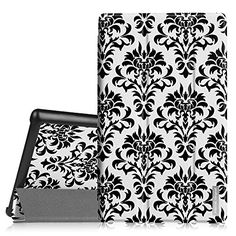 Fintie SmartShell Case for Fire HD 8 2015 Model 5th Gen Only  Ultra Slim Lightweight Standing Cover with Auto Wake  Sleep for Amazon Fire 8 HD Display Tablet NOT FIT Fire HD 8 2016 Versailles <3 Detailed information can be found by clicking on the image
