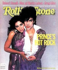 Prince and Vanity on the cover of Rolling Stone.