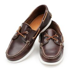 486f2d4cdcd Awesome looking boat shoes from  rancourtco  leather  boatshoes  USAmade  Boat Shoes Outfit
