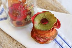 Kid Favorite Fruity Baked Apple Chips from Our Best Bites
