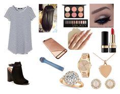 """""""say it (girl perform)"""" by rochellepires22 on Polyvore featuring MAC Cosmetics, Forever 21, Dolce&Gabbana, Jennifer Meyer Jewelry, Kate Spade, Michael Kors, Allurez and Steve Madden"""